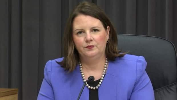 Dr. Jennifer Russell, New Brunswick's chief medical officer of health, said the risk of contracting COVID-19 will never be zero, but the situation is encouraging. (CBC - image credit)
