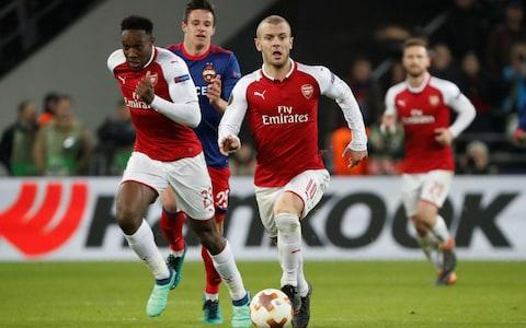 wilshere for arsenal - Credit: REUTERS
