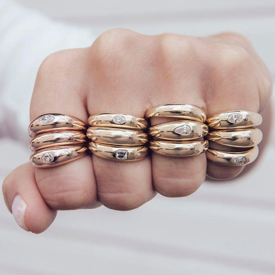 """<p><strong>Who: </strong>Jacquie Aiche</p><p><strong>What: </strong>Make March Matter fundraising</p><p><strong>Where:</strong> Online at jacquieaiche.com</p><p><strong>Why: </strong>LA-based jewelry brand Jacquie Aiche is using the month of March to fundraise for the annual campaign Make March Matter. This campaign is focused on raising funds for the Children's Hospital Los Angeles, and both businesses and the community of LA rally around this fundraiser every year. Jacquie Aiche will be donating 20% of all proceeds from this line to Make March Matter, which includes best-selling items worn by Rihanna and Gigi Hadid, for the entire month of March. <strong><br></strong></p><p><a class=""""link rapid-noclick-resp"""" href=""""https://jacquieaiche.com/collections/make-march-matter"""" rel=""""nofollow noopener"""" target=""""_blank"""" data-ylk=""""slk:SHOP NOW"""">SHOP NOW</a></p>"""