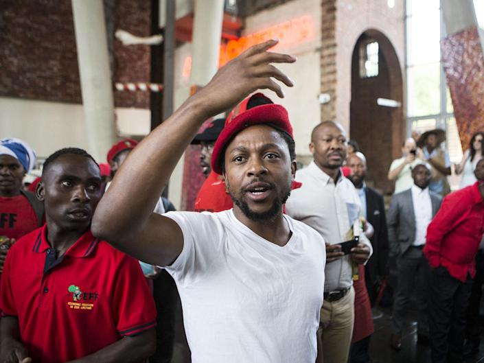South Africa: Taking farms from whites is justified because 'it's not really their land', says EFF spokesman
