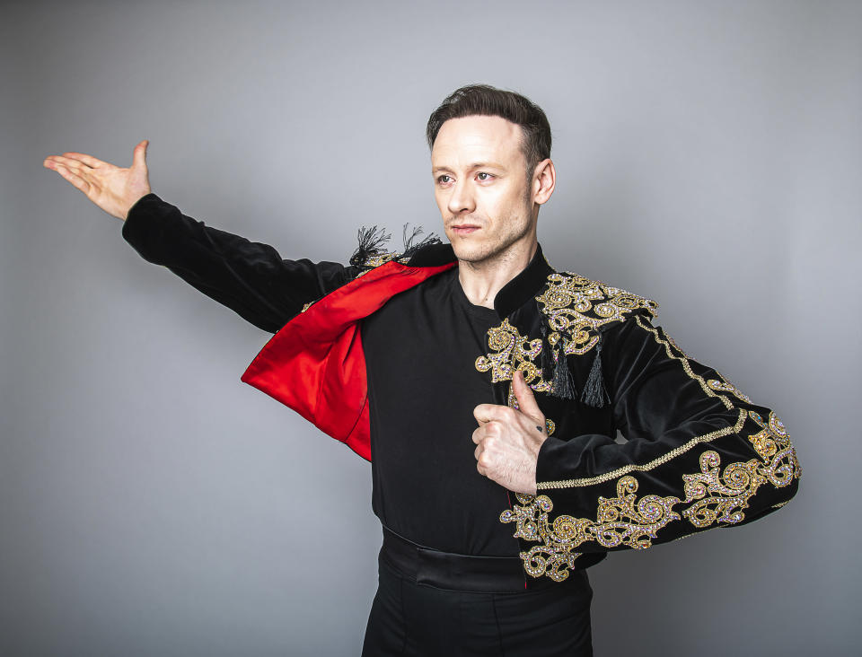 Kevin Clifton will star as Scott Hastings in the UK tour of Strictly Ballroom The Musical, based on the smash hit Baz Luhrmann film on March 13, 2020 in London, England.The tour, directed by Craig Revel Horwood, kicks off in September this year and will play at theatres all over the UK until June 2021 (Photo by Dave J Hogan/Getty Images for Strictly Ballroom The Musical)