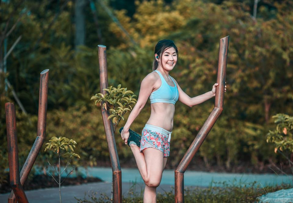 Eng Ying Tian is a running enthusiast who takes part in local and international marathons.