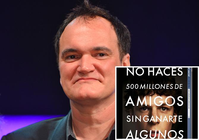 Quentin Tarantino (IC zjj am; Gtres), La red social (Sony Pictures)