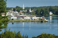 """<p><a href=""""https://go.redirectingat.com?id=74968X1596630&url=https%3A%2F%2Fwww.tripadvisor.com%2FTourism-g40586-Damariscotta_Maine-Vacations.html&sref=https%3A%2F%2Fwww.esquire.com%2Flifestyle%2Fg35036575%2Fsmall-american-town-destinations%2F"""" rel=""""nofollow noopener"""" target=""""_blank"""" data-ylk=""""slk:This boating and fishing community"""" class=""""link rapid-noclick-resp"""">This boating and fishing community</a> located on the salty Damariscotta River will have you wondering why river towns aren't more popular. The shores are lined with oyster shells that historians say are from Native American gatherings 2,500 years ago. Cool, no? </p>"""