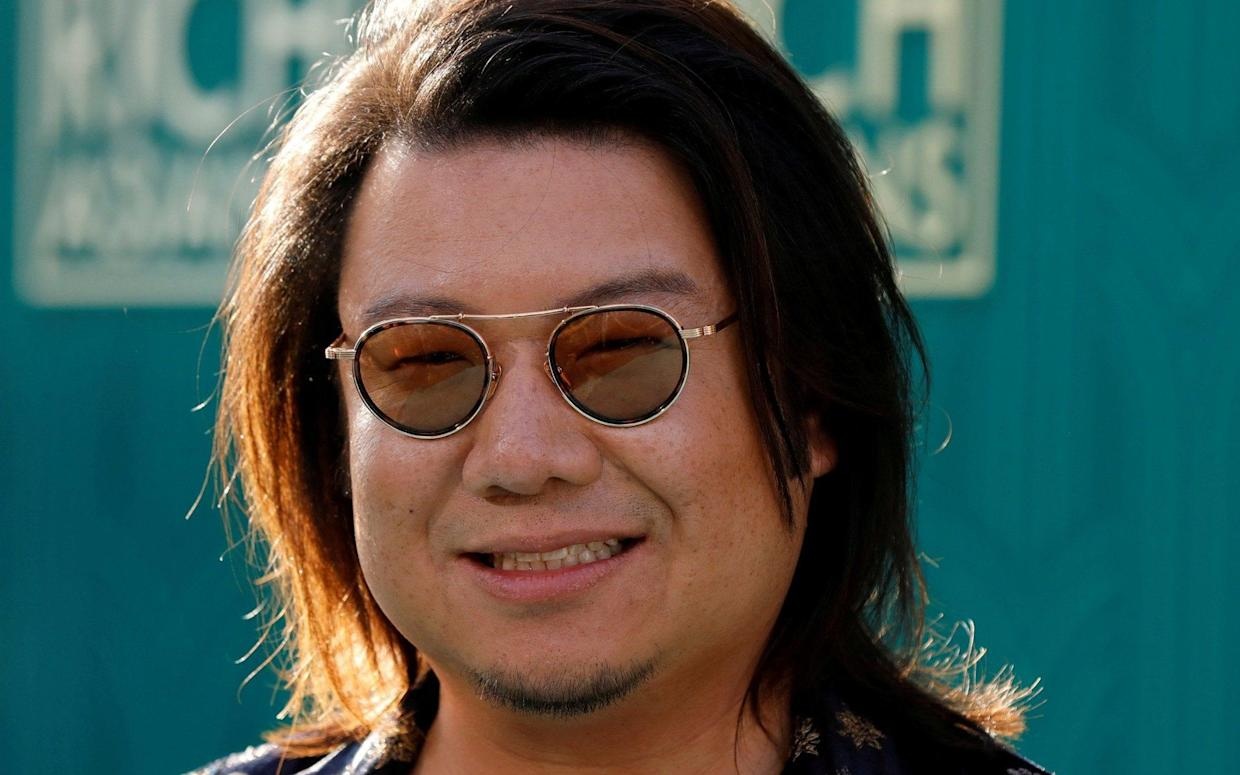 Kevin Kwan was notably absent from the Singapore premier of the romantic comedy on Tuesday - REUTERS