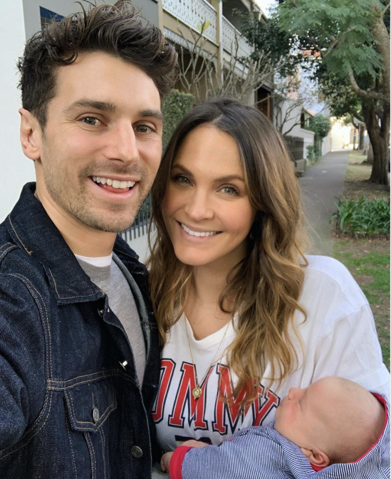 Matty J had a very strange request for Laura Byrne after they welcomed their daughter, and it took nine weeks for her to say yes. Photo: Instagram/matthewdavidjohnson