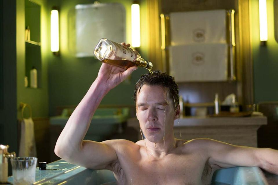 Having a drink: Benedict Cumberbatch as Patrick Melrose in the TV miniseriesOllie Upton/SHOWTIME