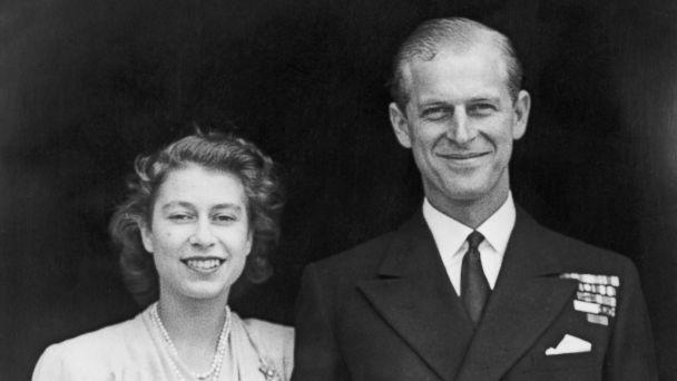 PHOTO: Princess Elizabeth and Prince Philip, Duke of Edinburgh at Buckingham Palace, London shortly after they announced their engagement, July 11, 1947. (Fox Photos/Getty Images)
