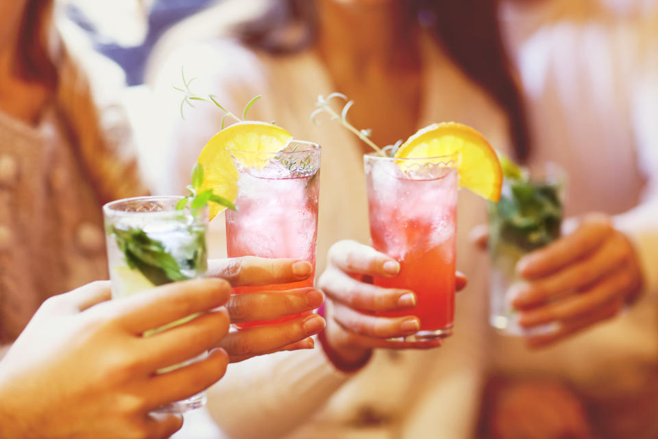 Being teetotal carries a slightly higher risk of dying prematurely than lightly drinking [Photo: Getty]