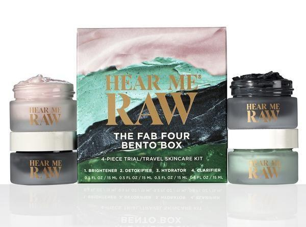 """<p>""""Any mask-lover would be thrilled to get the <span>Hear Me Raw The Fab Four Bento Box</span> ($38, originally $60) gift set. It comes with four natural and powerful masks each targeting a different skin concern. From detoxifying to hydrating to brightening, these masks work wonders and are so fun to mix and match. They'll last you forever, too."""" - KH</p>"""