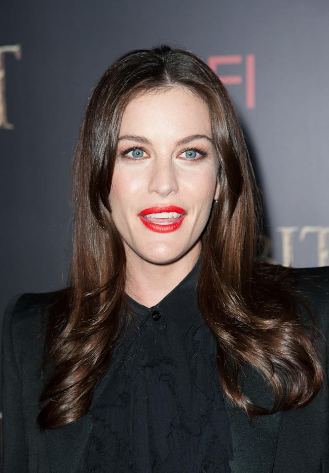 """NEW YORK, NY - DECEMBER 06:  Liv Tyler attends """"The Hobbit: An Unexpected Journey"""" New York premiere benefiting AFI at Ziegfeld Theater on December 6, 2012 in New York City.  (Photo by Dave Kotinsky/Getty Images)"""