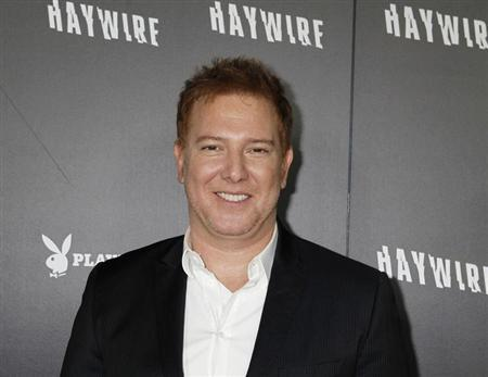 "Relativity Media CEO Kavanaugh poses at the premiere of director Soderbergh's new film ""Haywire"" in Hollywood"