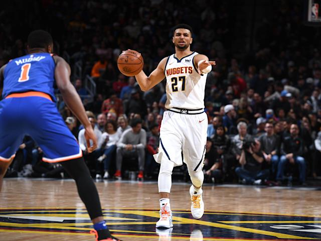 Jamal Murray is emerging as the Nuggets' second star. (Getty)