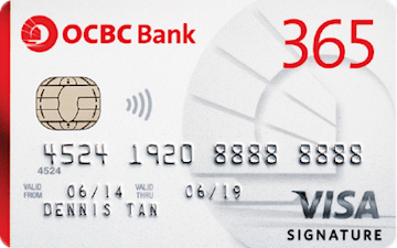 Apply Now for OCBC 365 Credit Card