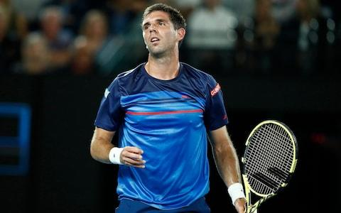 Delbonis struggling to compete with world No 1 - Credit: Getty Images