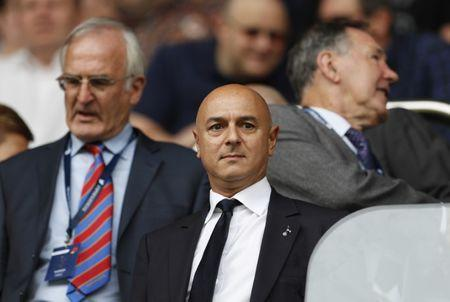 Tottenham Hotspur v Liverpool - Premier League - White Hart Lane - 27/8/16. Tottenham chairman Daniel Levy in the stands. Action Images via Reuters / John Sibley Livepic