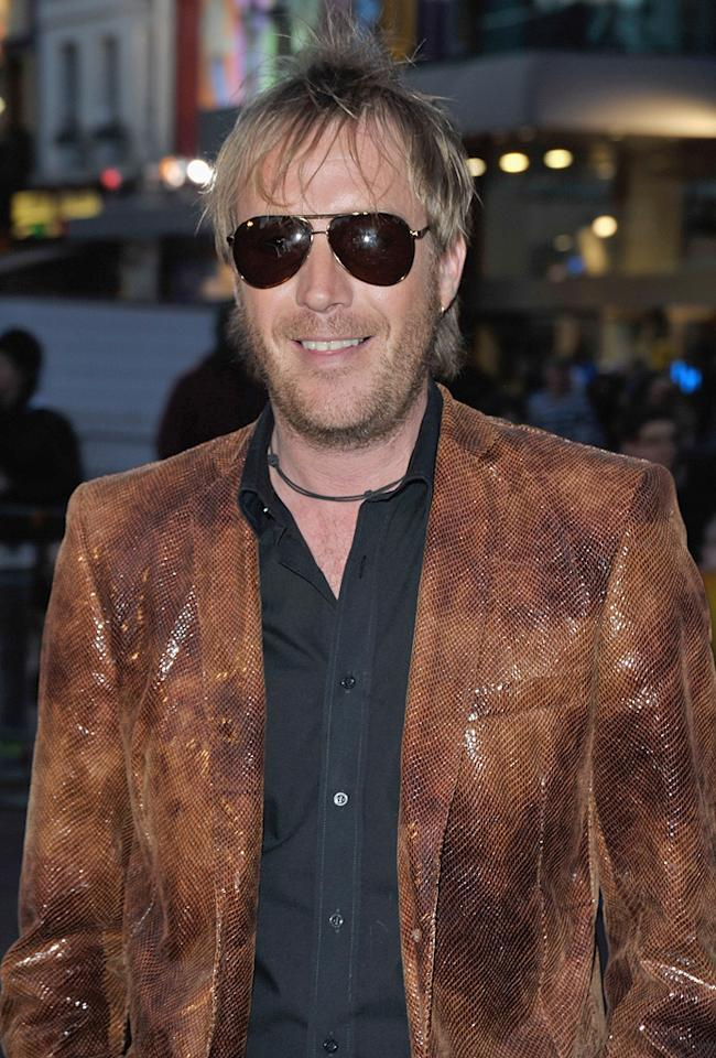 "<a href=""http://movies.yahoo.com/movie/contributor/1800018838"">Rhys Ifans</a> at the London premiere of <a href=""http://movies.yahoo.com/movie/1809998397/info"">The Boat That Rocked</a> - 03/23/2009"