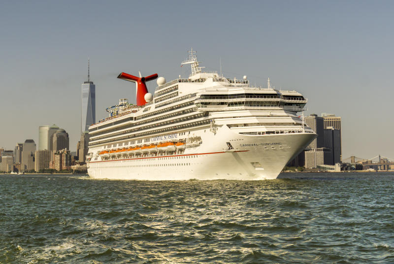 A judge hasthreatened to block Carnival ships from docking in U.S. ports because of ongoing environmental concerns. (SIPA USA/PA Images)