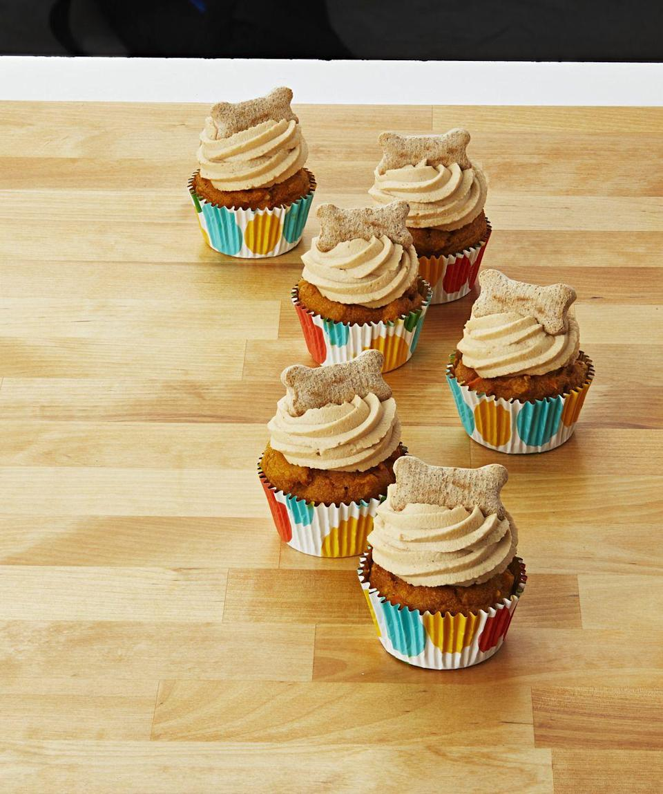 "<p>These Peanut Butter Pupcakes by Chungah Rhee from her blog, <a href=""https://damndelicious.net/"" rel=""nofollow noopener"" target=""_blank"" data-ylk=""slk:Damn Delicious"" class=""link rapid-noclick-resp"">Damn Delicious</a>, are the perfect pet-safe treat for your dog. They're packed with canine-friendly ingredients like pumpkin puree, peanut butter, and oats. </p><p><strong><a href=""https://damndelicious.net/2017/04/09/peanut-butter-pupcakes/"" rel=""nofollow noopener"" target=""_blank"" data-ylk=""slk:Get the recipe."" class=""link rapid-noclick-resp"">Get the recipe.</a></strong></p>"