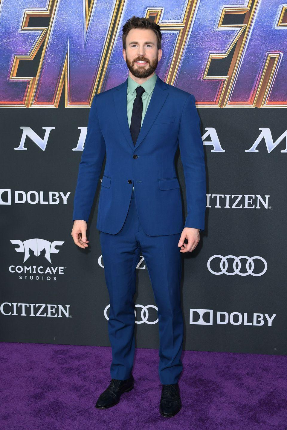 "<p>Height: 6'0""</p><p>Was height one of the requirements to being Captain America?</p>"