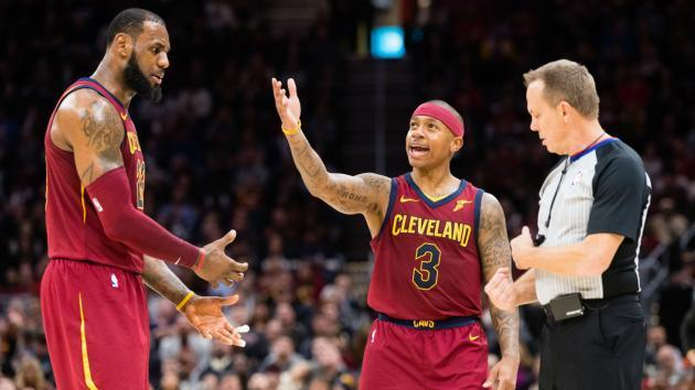 <p>Cavaliers players reportedly frustrated with Isaiah Thomas</p>