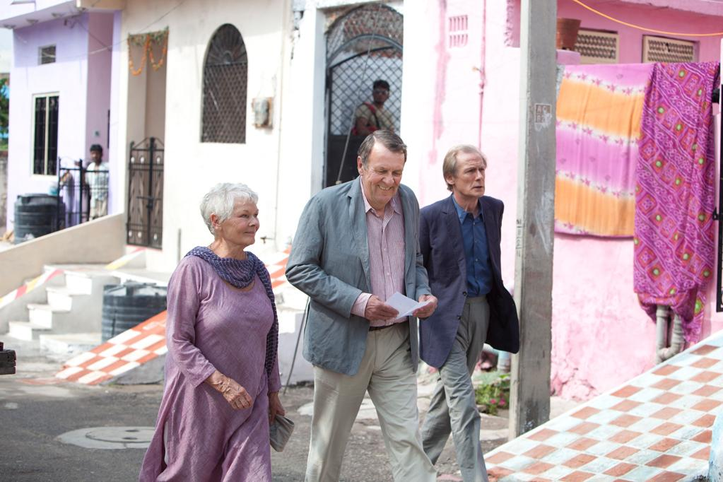 """Judi Dench, Tom Wilkinson and Bill Nighy in Fox Searchlight's """"The Best Exotic Marigold Hotel"""" - 2012"""
