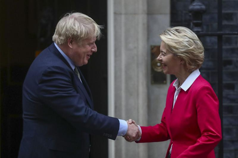 Boris Johnson, Ursula Von Der Leyen Set Out Rival Red Lines for Post-Brexit