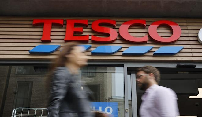 Tesco says it has stopped production at the factory at the centre of the claims. Photo: AFP