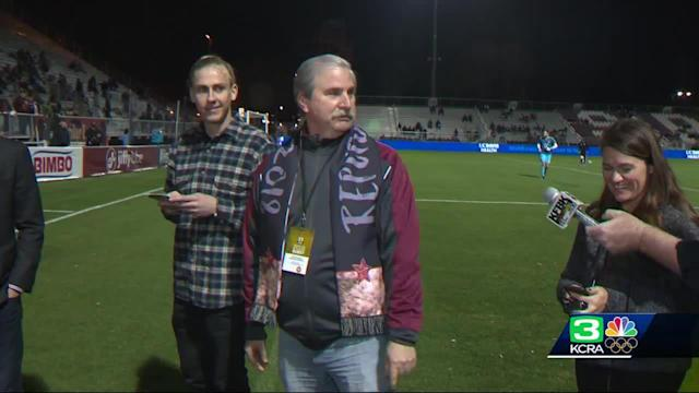 """Following a series of setbacks that put the Major League Soccer future of the Sacramento Republic FC in serious jeopardy, the team announced it's making progress in its bid to join the league. The team's chairman and CEO, Kevin Nagle, said he's currently vetting about 15 potential investors, including several billionaires. He said talks between three and five of them are getting """"very serious."""" Additional funding is needed to cover the $150 million MLS expansion fee and $250 million stadium proposed to be built in the Sacramento Railyards."""