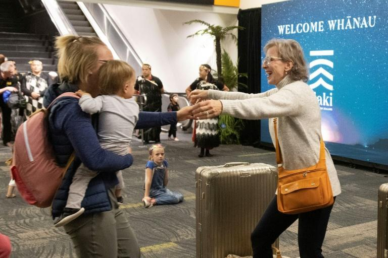 The travel bubble between Australia and New Zealand allowed families separated by Covid-enforced border closures to reunite