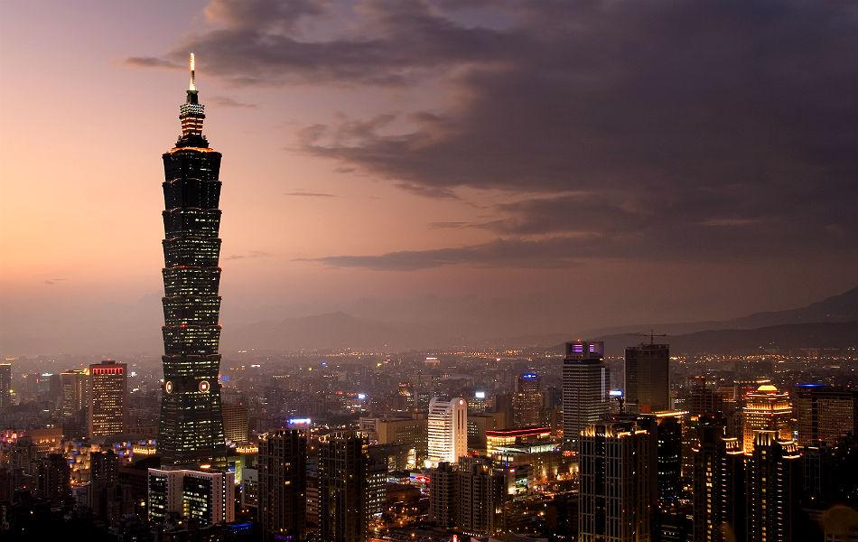Taipei 101 in Taiwan was built in 2004. It is 508m high, and has 101 floors.