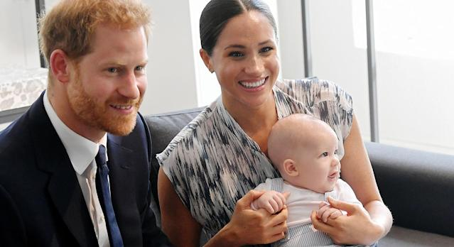 The Duke and Duchess of Sussex have released a new image of baby Archie. [Photo: Getty]