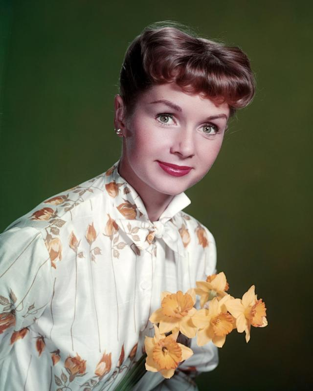 "<p>Mary Frances ""Debbie"" Reynolds was an American actress, singer, entertainer, businesswoman, film historian, humanitarian and a noted former collector of film memorabilia. She died on December 28, 2016, a day after her daughter, Carrie Fisher. — (Pictured) American actress and singer Debbie Reynolds, circa 1955. (Silver Screen Collection/Getty Images) </p>"