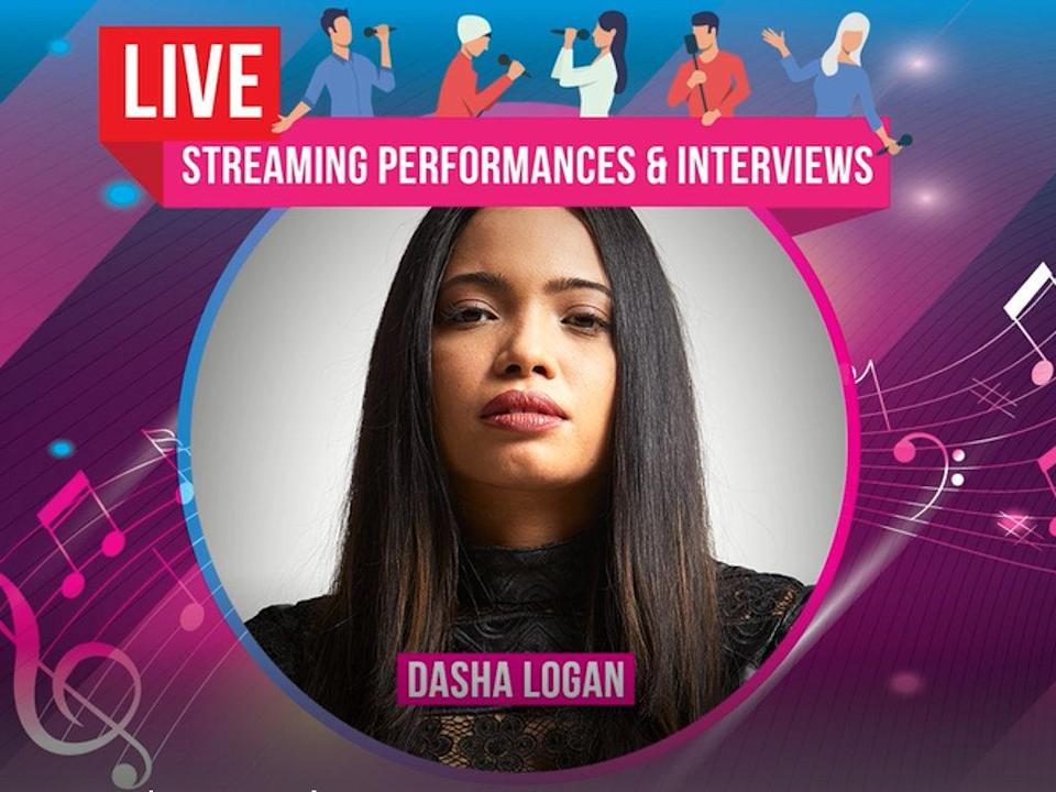 """Dasha Logan is one of the performers for the """"Together We Can"""" entertainment charity campaign."""
