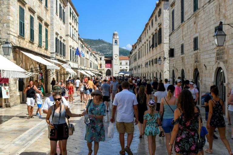 Croatia's walled medieval town of Dubrovnik staggers arrival times for cruise ships