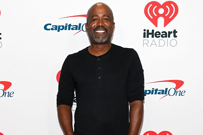 Darius Rucker attends the 2021 iHeartRadio Music Festival on September 17, 2021 at T-Mobile Arena in Las Vegas, Nevada.
