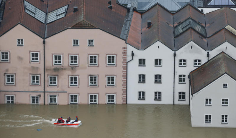 Situation in flood-hit German city 'dramatic'