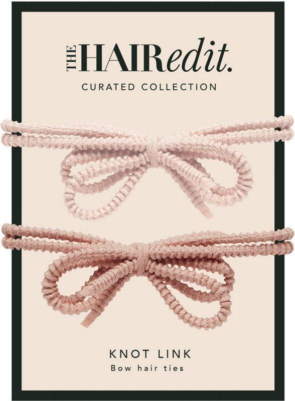 """<p><strong>The Hair Edit</strong></p><p>ulta.com</p><p><strong>$7.49</strong></p><p><a href=""""https://go.redirectingat.com?id=74968X1596630&url=https%3A%2F%2Fwww.ulta.com%2Fblush-knot-links%3FproductId%3Dpimprod2021325&sref=https%3A%2F%2Fwww.womenshealthmag.com%2Ffitness%2Fg19820093%2Fbest-summer-workout-gear%2F"""" rel=""""nofollow noopener"""" target=""""_blank"""" data-ylk=""""slk:Shop Now"""" class=""""link rapid-noclick-resp"""">Shop Now</a></p><p>Most of us know the frustration of having our loose hair get stuck on our sweaty faces mid-run, but these adorable hair ties totally eliminate that possibility. The grips make your ponytail stay in place, and the silicone finish makes sure you aren't left with bumps in your hair afterwards. </p><p>Plus, the bow on them makes them look just as cute on your wrist.</p>"""