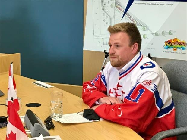 Snowbirds Capt. Scott Boyd, the partner of Capt. Jennifer Casey, said at the press conference Monday that he's thankful for the support from local community after the crash happened last year.