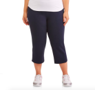 """<p><strong>Athletic Works</strong></p><p>walmart.com</p><p><strong>$14.96</strong></p><p><a href=""""https://go.redirectingat.com?id=74968X1596630&url=https%3A%2F%2Fwww.walmart.com%2Fip%2F970344915&sref=https%3A%2F%2Fwww.prevention.com%2Ffitness%2Fworkout-clothes-gear%2Fg34943640%2Fplus-size-workout-clothes%2F"""" rel=""""nofollow noopener"""" target=""""_blank"""" data-ylk=""""slk:Shop Now"""" class=""""link rapid-noclick-resp"""">Shop Now</a></p><p>Those who enjoy a capri length but hate tight-fitting leggings will love this relaxed style from Athletic Works. It has a 4.7-star average rating on Walmart and rings in at less than $20!</p>"""