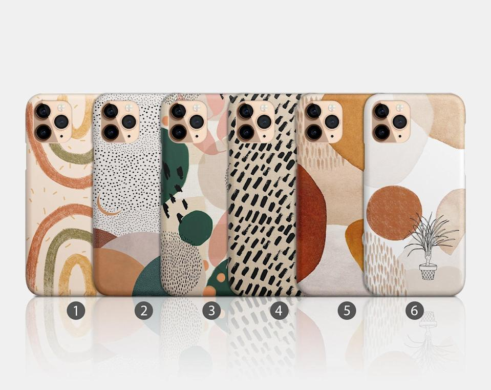 <p>These <span>Modern Muted Art iPhone Cases</span> ($16, and up) are stunning! If they love neutrals, they'll adore these phone cases.</p>
