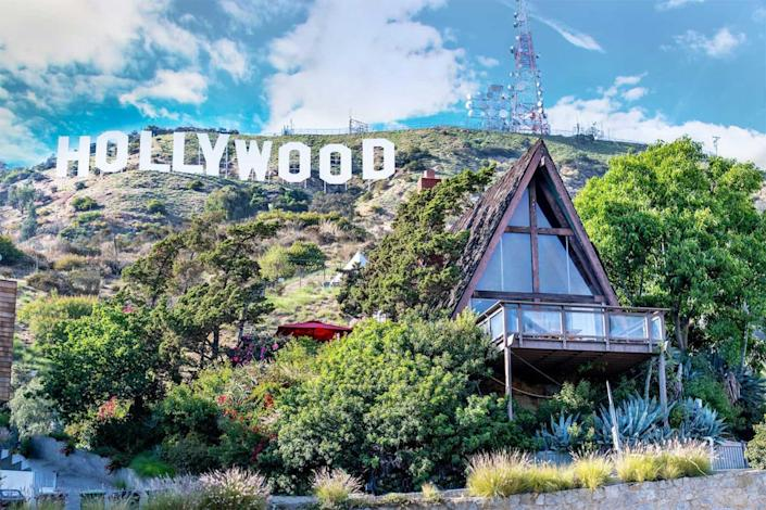 Hollywood Sign Chalet