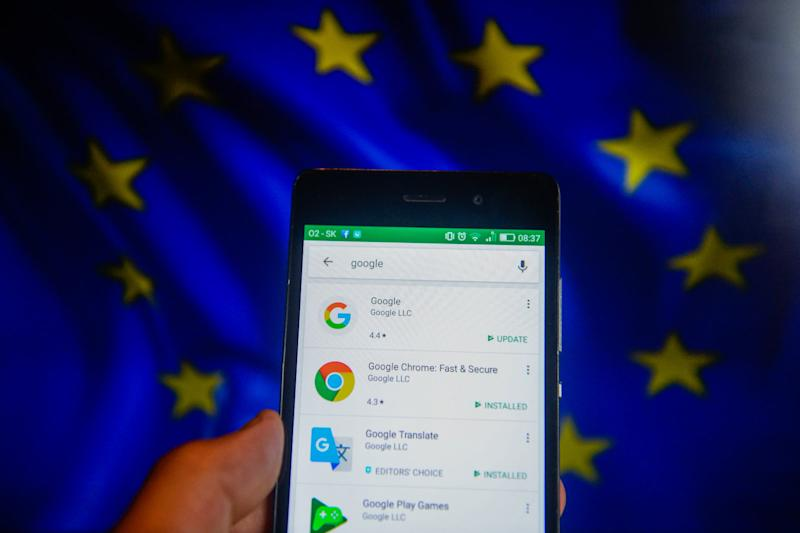 Google reportedly offered Android changes to EU in 2017