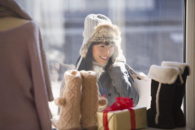 Christmas shopping and freebies