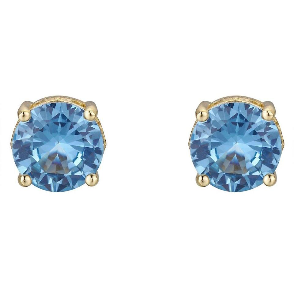 <p>They'll feel like a princess in these <span>Cinderella Stud Earrings</span> ($74).</p>