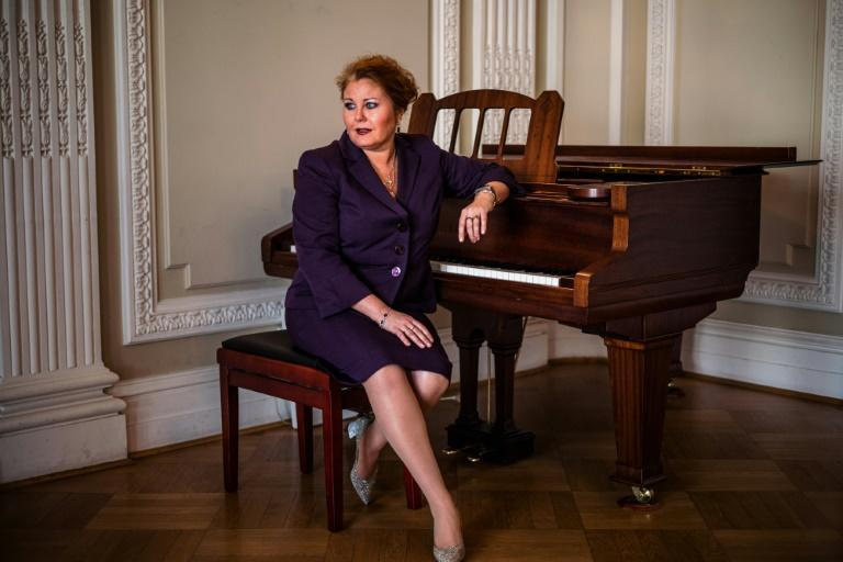 Maria Lyudko, a voice instructor at the Saint Petersburg Conservatory, is proud to be descended from one of Napoleon's 2,000 soldiers who remained in Russia after the French army retreated