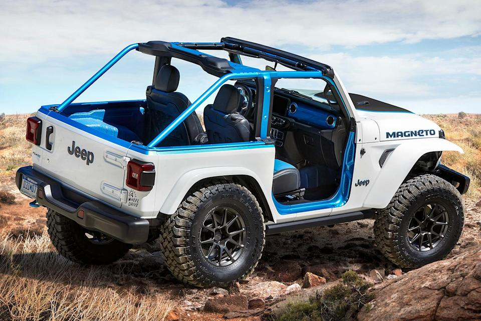 The Electric Jeep Wrangler Magneto Concept Vehicle