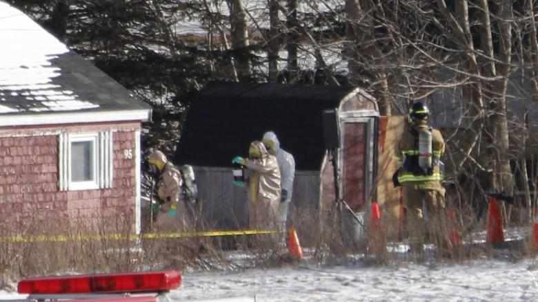 Police believed Christopher Phillips, on trial in Halifax today, had explosives