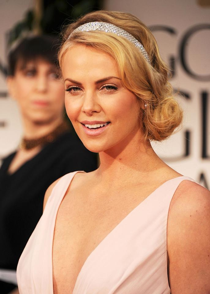 BEST: Charlize Theron arrives at the 69th Annual Golden Globe Awards in Beverly Hills, California, on January 15.