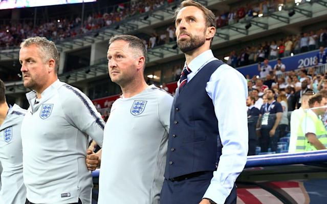 "Steve Holland has revealed fascinating detail of how England's World Cup plans, including an overhaul of the team, style of play and the formation, were hatched on a road trip around Russia with Gareth Southgate last summer. The England assistant manager, who enjoyed six remarkably successful years on the Chelsea backroom staff, also said that Southgate shares the same three qualities every successful manager - including Jose Mourinho and Antonio Conte - requires. Southgate held off his ""revolution"" until England had qualified after picking up the pieces following Sam Allardyce's dismissal - after just one game in charge - and the Iceland debacle overseen by Roy Hodgson at Euro 2016 which led to him quitting. But it was at the Confederations Cup that Southgate and Holland, as they travelled around Russia watching matches but also looking at possible World Cup base camps, found the time to work on their detailed plans - with the key decision of switching to a defensive back three made over dinner in Sochi. ""We spent about four weeks on the road, the two of us,"" Holland, who first worked with Southgate as his assistant with England Under-21s, said. ""We spent a lot of time on a plane but it really gave us the opportunity to speak about what we'd learnt in the year. We came to some conclusions. We watched the matches in the Confeds Cup; Germany, Portugal, Mexico, Chile, some good teams. Tried to envisage how we would play, how our team would look in those kind of fixtures against that kind of opposition, and we made some decisions. One of those was a back three. We felt we would be better with and without the ball with a back three. We had dinner in Sochi and that was more or less where it was named. Steve Holland and Gareth Southgate finalise their plans Credit: pa ""We looked at Terry Venables' Euro 96 team, (Steve) McManaman and (Darren) Anderton as wing-backs and (Gary) Neville in a back three, the balance of the midfield etc, etc. Even back to Bobby Robson, in Italia 90, who started with one way of playing then went to a back three... the process really was: what gives us the best chance of not conceding many goals? What gives us the best chance of having more control of the game with the ball? ""They were the two factors really. Also given the players that we've got, the type of players we had. That meant once we were going down that road, to fit one of those three positions you had to be a certain profile of player. It's been documented some players maybe are, some maybe aren't, but we were very clear if that's what we're going to do, to play in one of those three roles, to be able to handle the ball to a good level, is one of those criteria."" One casualty was Chris Smalling, deemed not good enough with the ball at his feet, while Kyle Walker was switched from right-back - in much the same way as Chelsea, under Conte, and with Holland there, moved Cesar Azpilicueta. ""Chelsea won the league that year with a 3-4-3, with Azpilicueta as a full-back in a back three, with (Gary) Cahill on the left and David Luiz, as it was then, in the middle. It was a combination of how we viewed our own players,"" Holland said. ""The next stage of that, really, was what best suited the midfield balance? We then felt three rather than two, given the profile of players we have. Three brings a (Jesse) Lingard, a (Dele) Alli, a (Adam) Lallana, who unfortunately we couldn't have but was England's player of the year last year. If we play with two, it's much more difficult for that kind of player to play that role, the responsibility becomes more to provide structure and balance to the team. England appear more fluid in a 3-5-2 Credit: getty images ""Also, we have good forwards. If we play 4-3-3 or 4-2-1-3 we can only play one of them. We play two, we can get two on the pitch, and also refresh the two more who are probably just as good. So (a back) three we thought was a good decision, three is better than two (in midfield), and two is probably better than one (in attack), given the profile of players we have. The only criteria we have after that is do we have the wing-backs? I think the wing-backs probably are the least of our problems. We have all sorts of different types of wing-backs, so it made sense."" One of those is Trent Alexander-Arnold, with the inclusion of the 19 year-old a prime example of diligent scouting and bravery. ""I went to watch Trent Alexander-Arnold in the Champions League quarter-final at Man City, second leg,"" Holland said. ""After three minutes they're 1-0 down Liverpool, and he's playing one against one against (Leroy) Sane, the crowd are up, the atmosphere, the place is rocking, they can smell there's a comeback on. He had to survive, and he did more than survive. So that night you don't learn 'is he a good crosser?' and 'can he play quickly out of pressure?' You learn, 'OK, this kid has got some personality when it matters'. They're the kind of things that we've tried to learn, and build profiles on all of the players."" Pick your England XI to face Panama Certainly Southgate and Holland are a good combination, with the assistant, at 48, also just four months older. ""I think with Gareth, he ticks so many of the boxes that the best that I've worked with tick,"" Holland said. ""There is an obvious difference. And I'm trying to say this without being in any with disrespectful towards Gareth, because clearly I wouldn't. Jose Mourinho has won this title or that title in four or five different countries, and Gareth hasn't. His pathway has been different. And he's a different personality. But does he understand man-management and getting the best out of players? Yes. Does he understand the value of giving staff ownership and responsibility, and getting the best out of the staff? Yes, absolutely. Does he have experience of international football at the highest level? Yes. So he has some outstanding qualities, and I've really seen him grow into the role."" Jamie Carragher: England's system does not suit Raheem Sterling - Marcus Rashford must play against Panama As for Holland himself, why did he leave Chelsea and take the England role? ""The best thing is this... to be at a World Cup with England, wow,"" he said. ""Do I miss the day-to-day training and being on the pitch, yeah of course. I'd much rather be doing that than driving here and there. But I think the role can be whatever you want it to be. I hear it's a job for an experienced guy who's at the end of his career, nice and calm, and enjoys his life. When the camp comes round, focus on the camp. That isn't how we've approached this massive responsibility."" In England, more than 20 million people watched the Tunisia game. ""It's a massive responsibility. What more important role could you have?"" Holland added. England 2-1 Tunisia: Did Southgate's big calls pay off? 